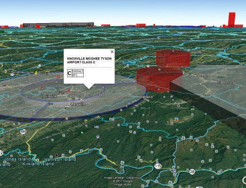 3D Airspace Map Inside Google Earth! Plus… FAA Sectional geoTIFFs FREE
